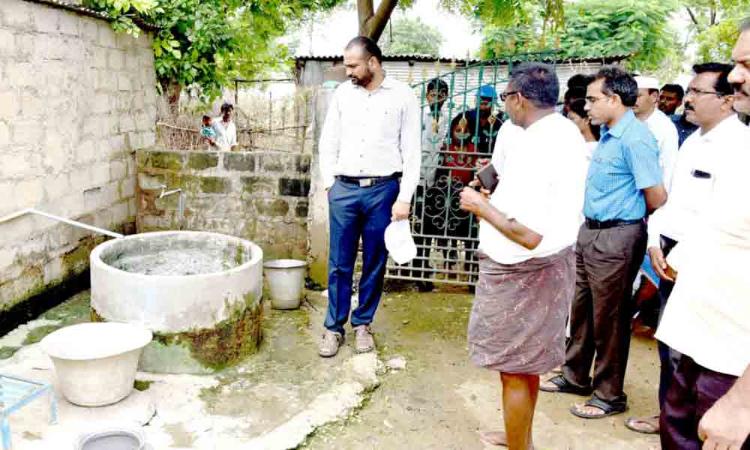 Sanitation works taken up in Kamepally villages