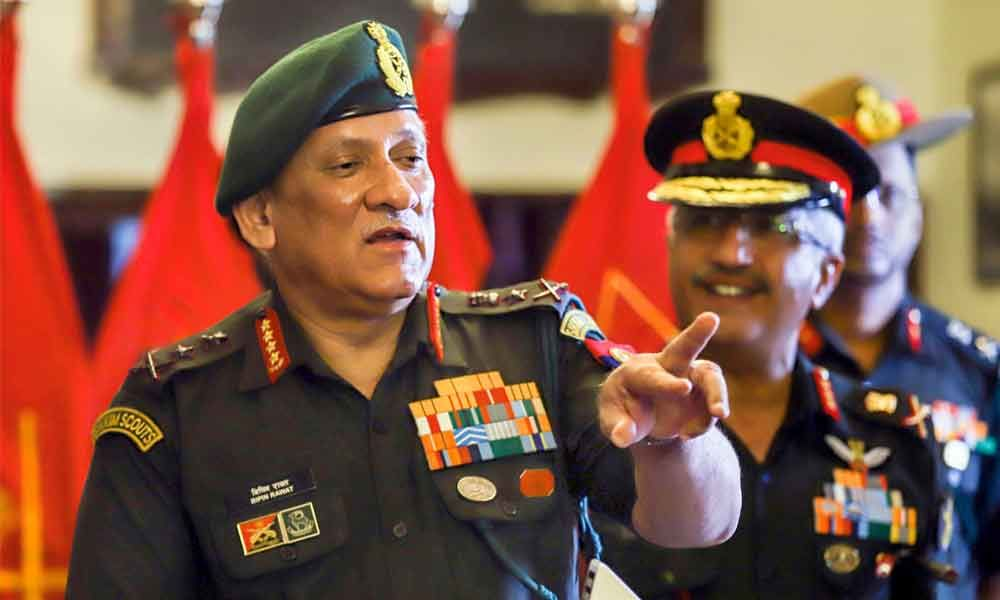 Clampdown claims false : 500 terrorists waiting to sneak into Kashmir, says Army