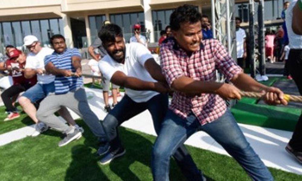 Indian consulate promotes Fit India movement in Dubai