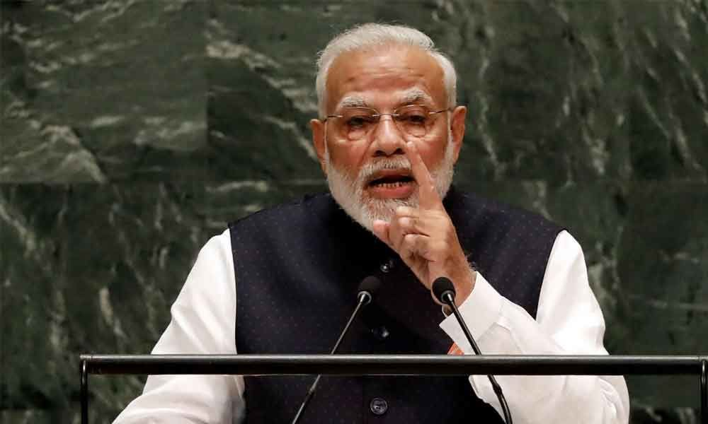 Hackathon to find Indian solution for global application: Modi