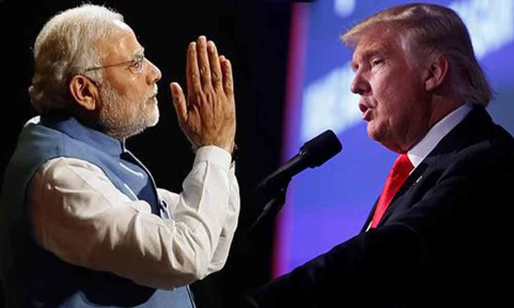 Trump, Modi and Gandhi