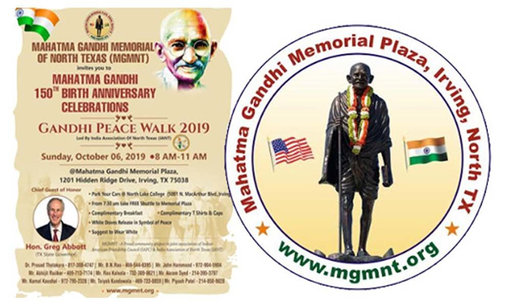MGMNT to conduct Gandhi Jayanti celebrations on October 6 in Dallas