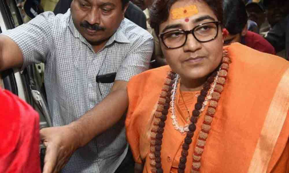 Bhopal: Pragya appears before NIA court, plays dead bat