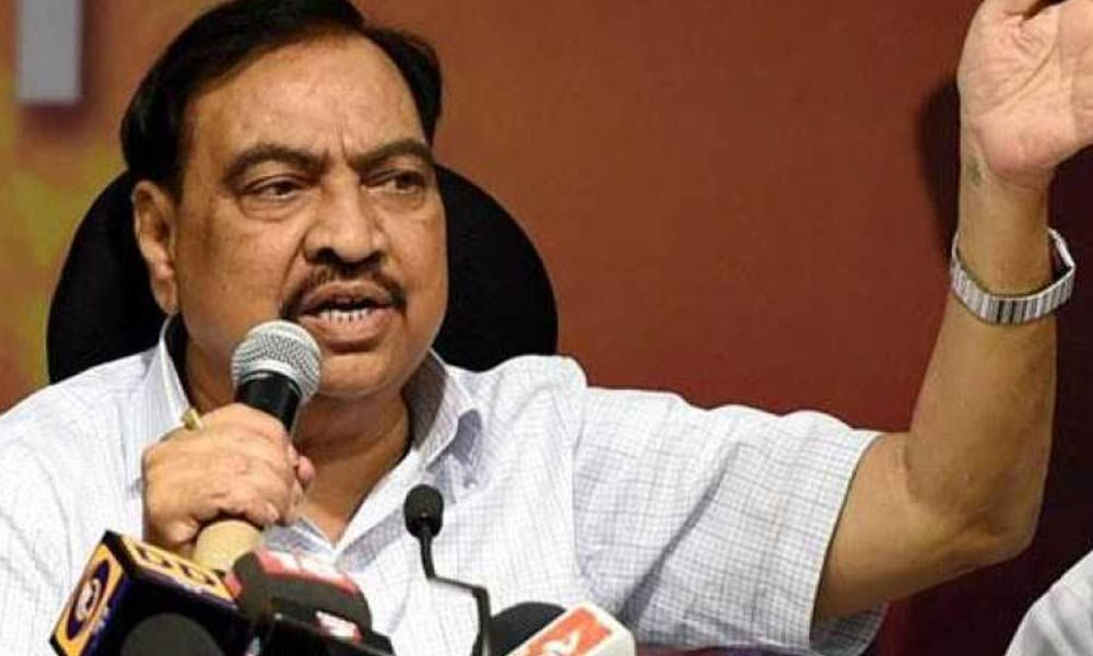 Maharashtra polls: BJP drops Eknath Khadse, fields his daughter, Tawde also dropped
