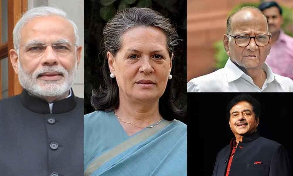 PM Modi, Sonia, Pawar, Shatrughan, et al., to raise Maha poll decibel