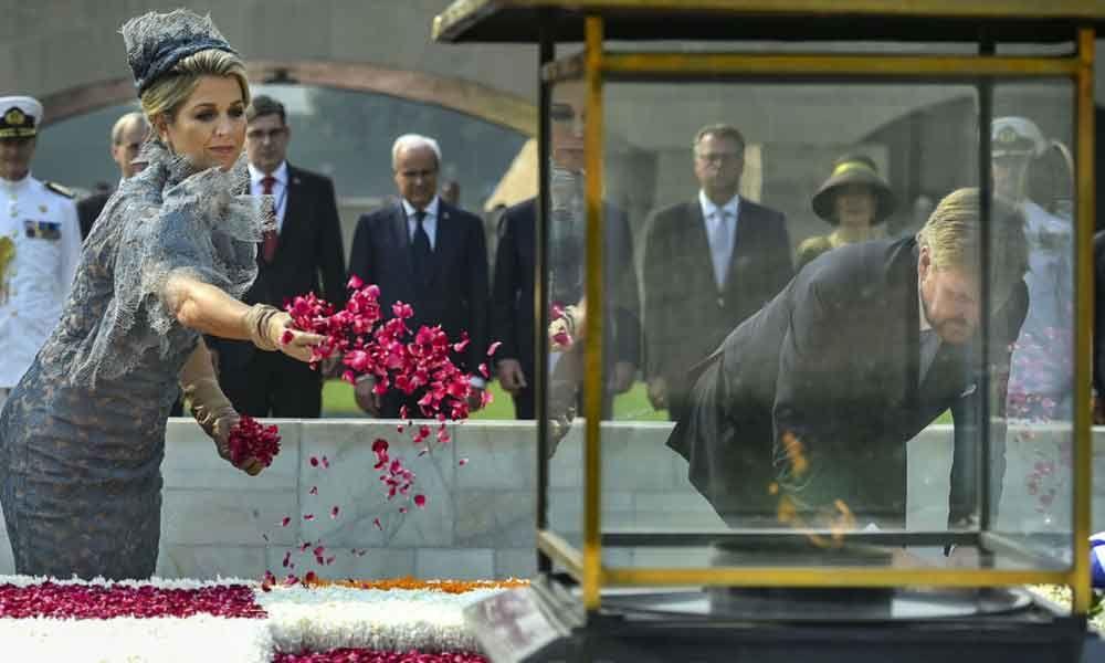 New Delhi: Dutch Royals on India visit to boost strategic ties