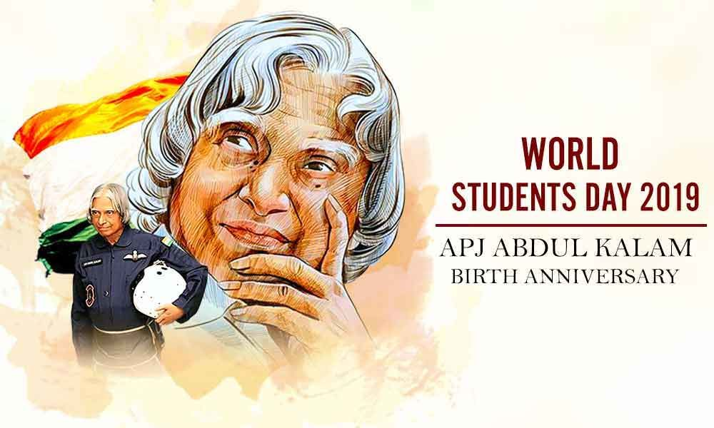 World Students Day 2019 Let S Honour And Mark The Importance Of India S 11th President Apj Abdul Kalam On His Birthday