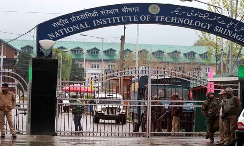 Kashmir: NIT reopens in Srinagar after 2 months