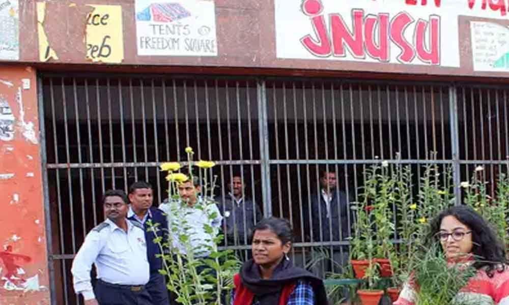 New Delhi: JNUSU says CRPF deployed on campus, admin denies the charge