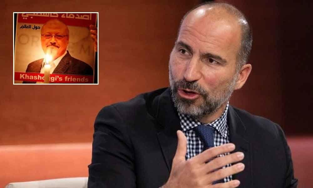 Uber CEO calls Khashoggi murder
