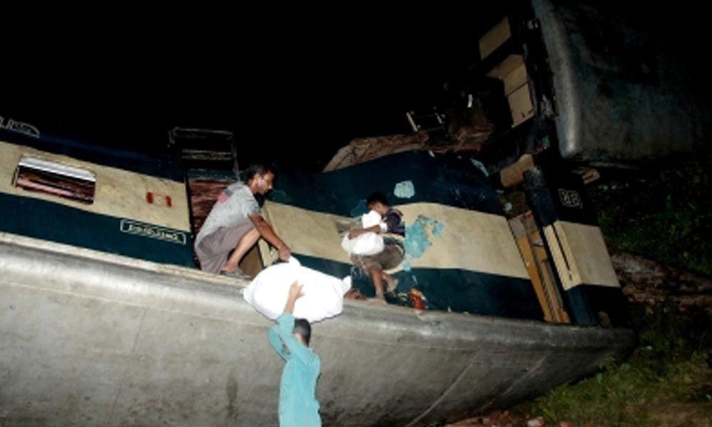 16 die, 58 hurt in Bangladesh train accident