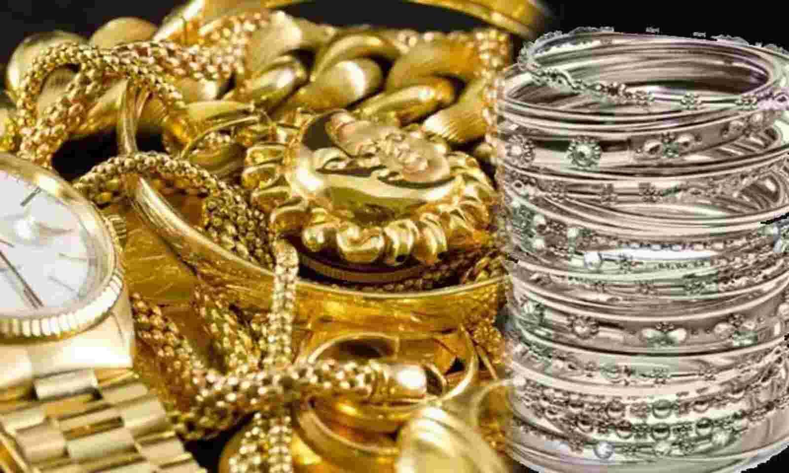 Gold, silver price declined in Hyderabad, Vijayawada, Delhi on November 21
