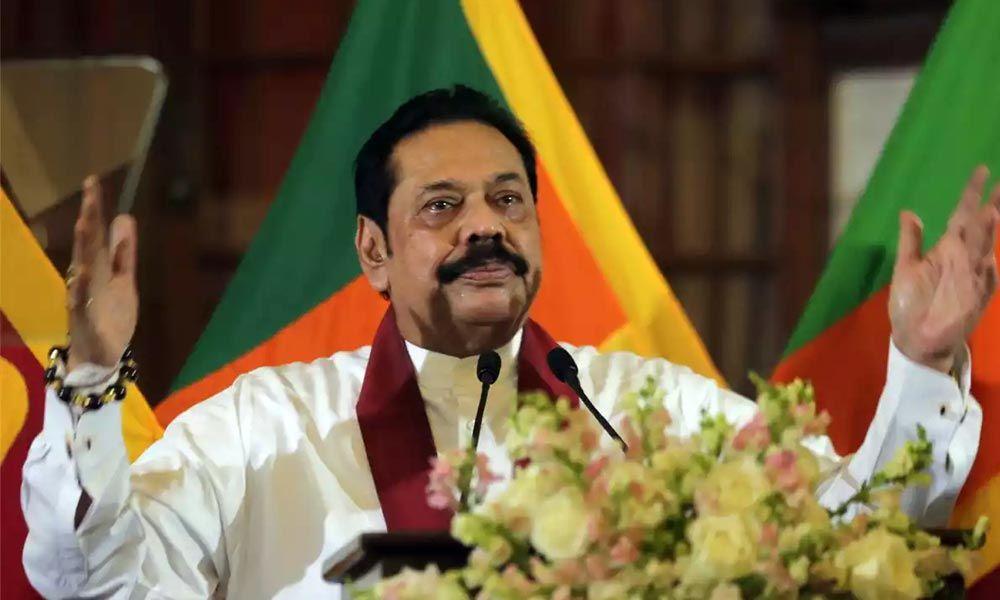 Mahinda Rajapaksa becomes Sri Lanka