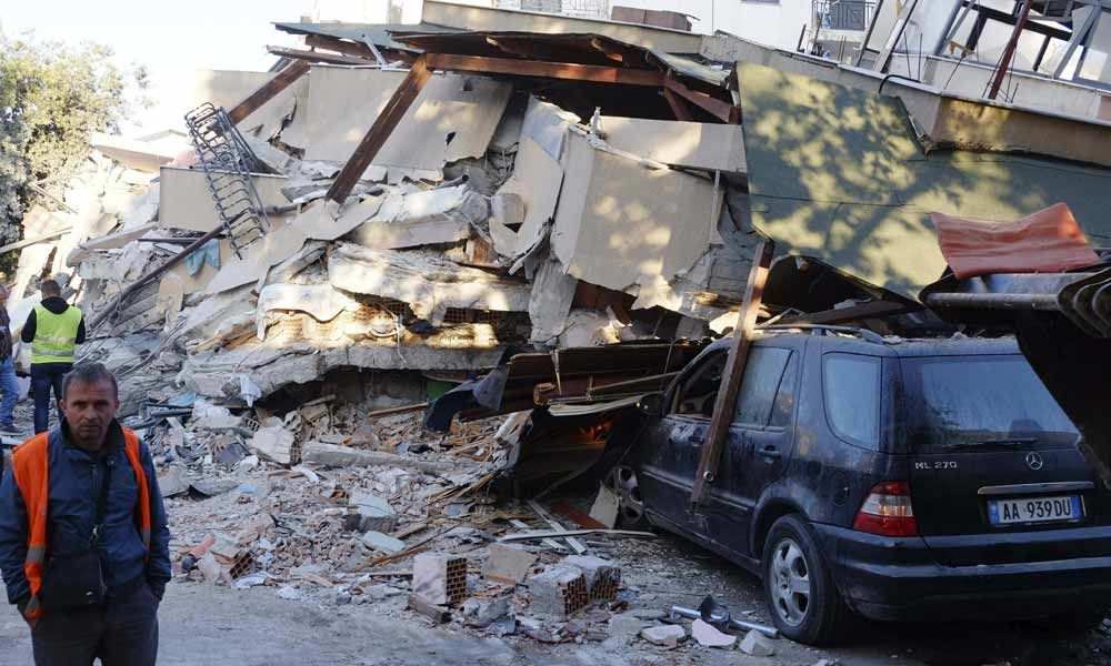 Death toll in Albania earthquake rises to 13: defence ministry