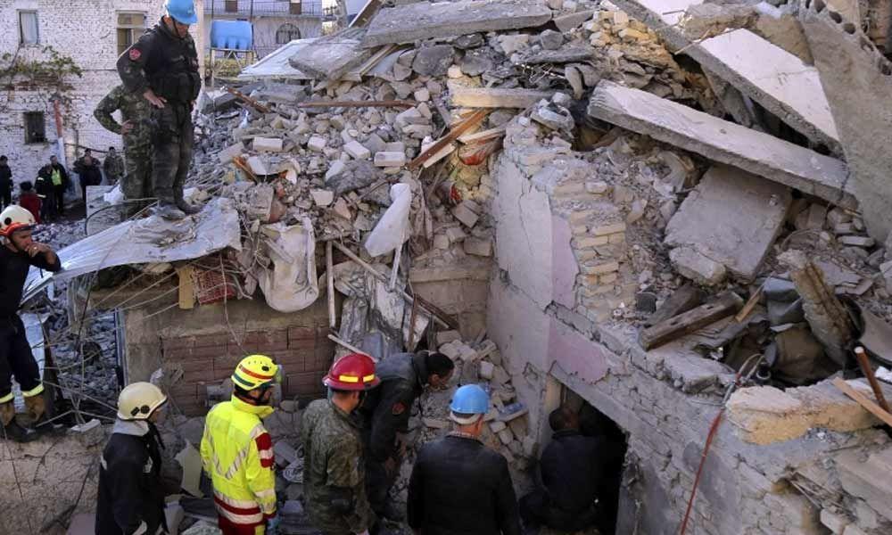 Albania death toll reaches 25 in quake aftermath