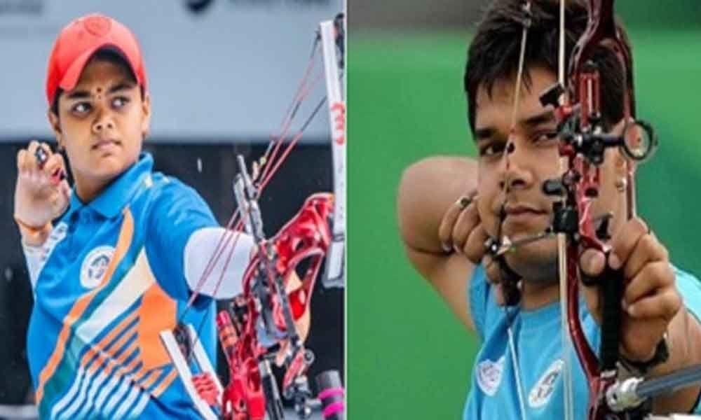 Abhishek-Jyothi claims compound mixed pair gold