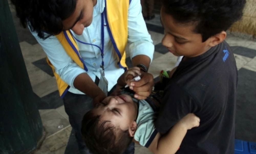 Polio cases in Pakistan rise to 94 this year