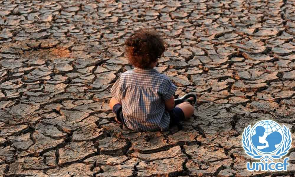 Climate crisis threatening child rights: Unicef