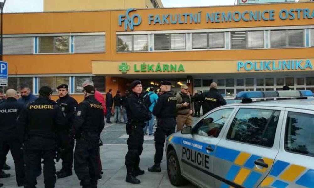 6 killed in Czech hospital shooting