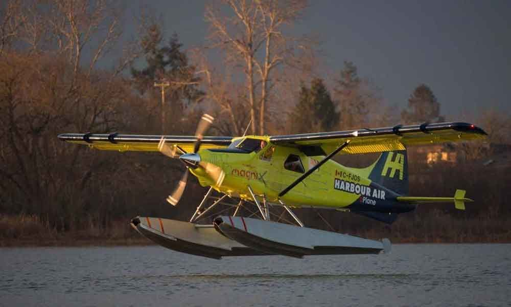 First fully electric plane takes off in Vancouver