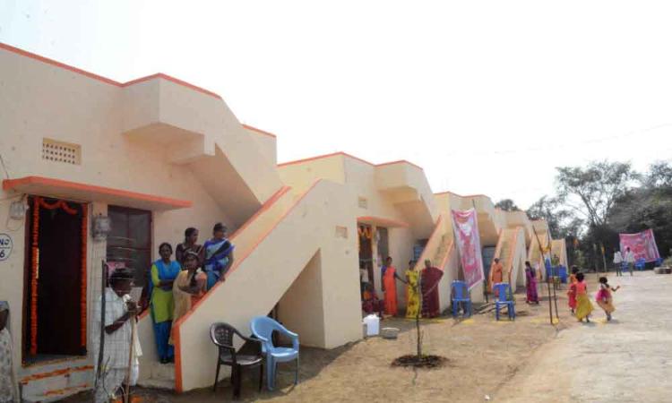 Warangal: 80 families get double bedroom houses