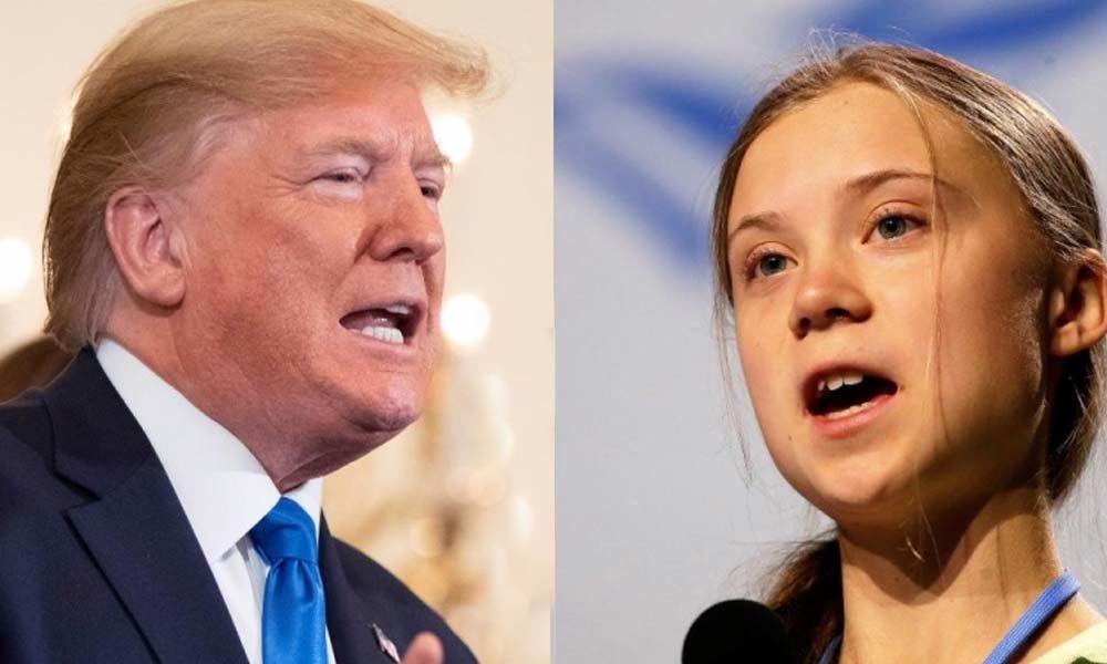 Greta Thunberg claps back at Trump for patronizing her