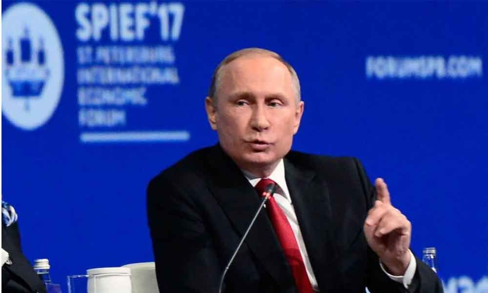 Vladimir Putin hints at leaving Russian presidency in 2024