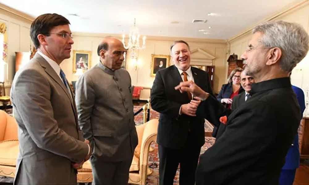Trump Meets Rajnath Singh, S Jaishankar, Discusses India-US Ties