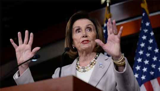 US Speaker Nancy Pelosi not ready to name team for Trump