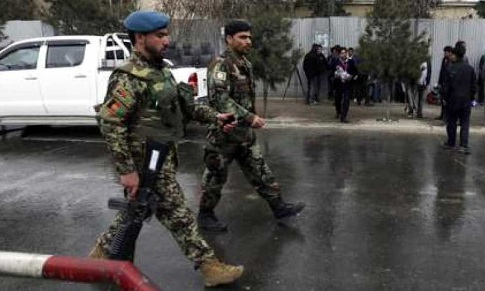 Eight Afghan soldiers killed in Taliban attack