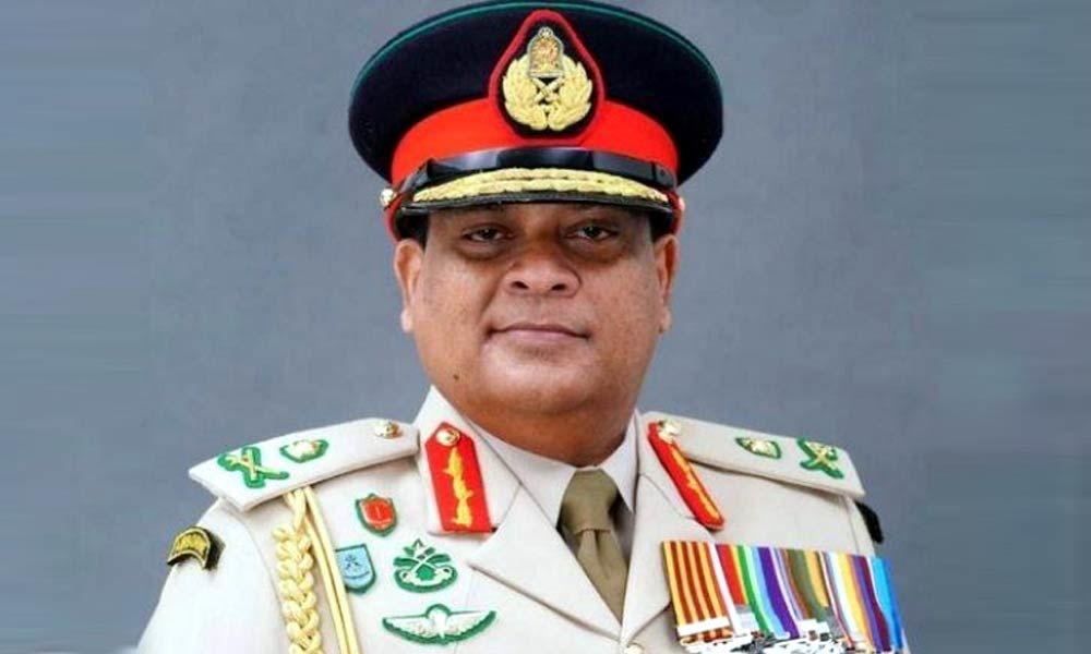 Sri Lanka army chief Shavendra Silva appointed as acting Chief of Defence Staff