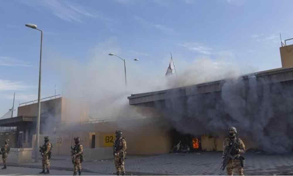 Two rockets hit Iraqi capital