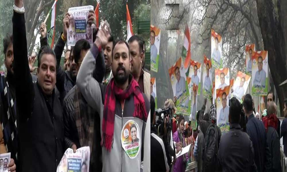 Delhi Assembly election tickets: Congress workers protest at Sonia residence