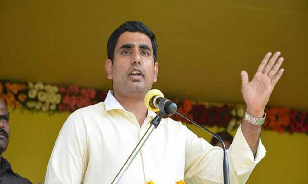 Nara Lokesh satires on YSRCP over attack on Naidu, says, it