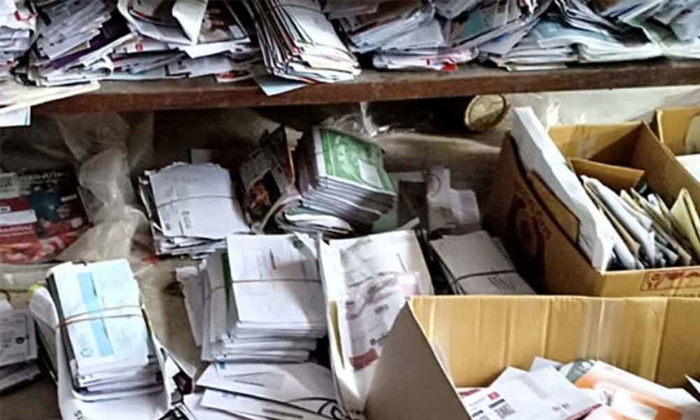 Postman in Japan hid 24,000 letters at home