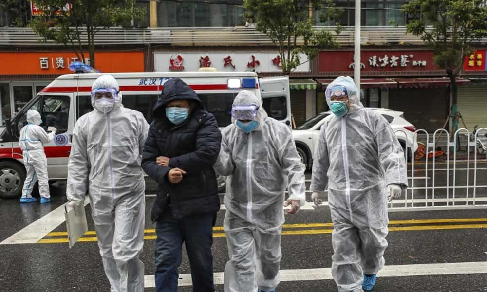 Three Japanese evacuated from Wuhan have new coronavirus