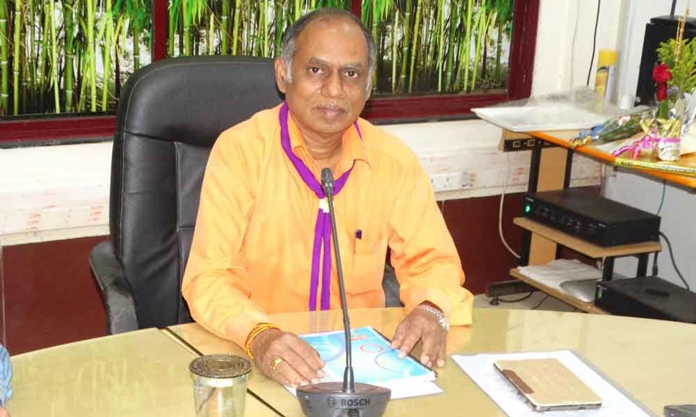 Baskaran takes charge as chief of SWR BSG
