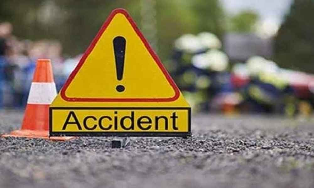One died and two injured when two bikes collide in Rajahmundry