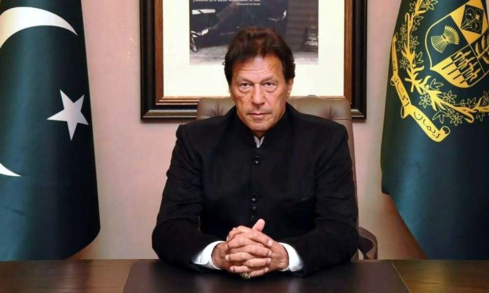 Imran Khan slams PM Modi, says
