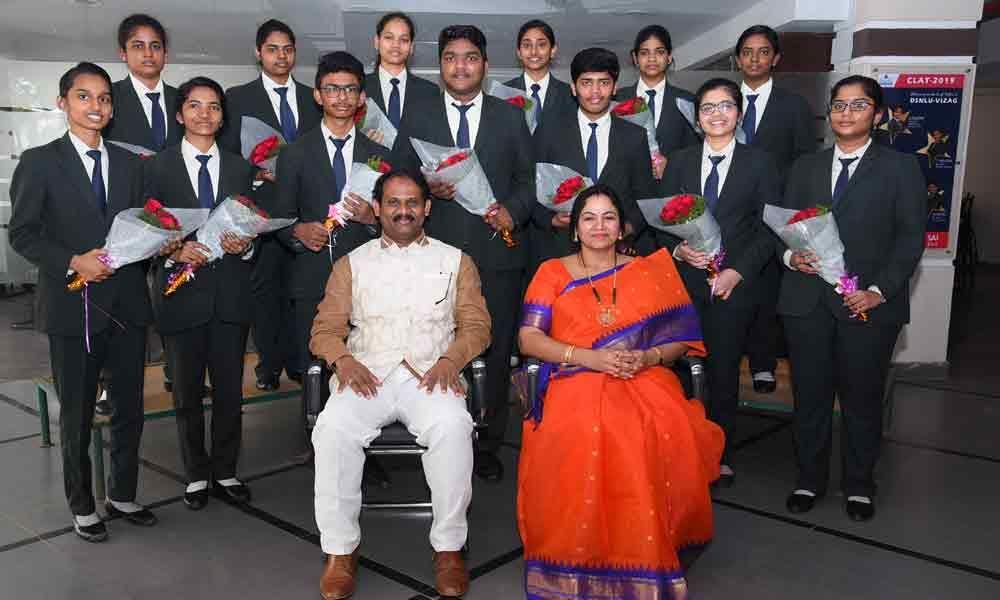 Rajamahendravaram: Students of Shirdi Sai College selected for Azim Premji Varsity