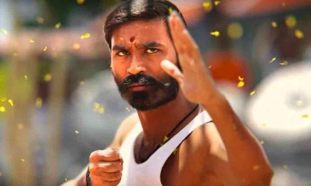 Dhanush showcases martial arts