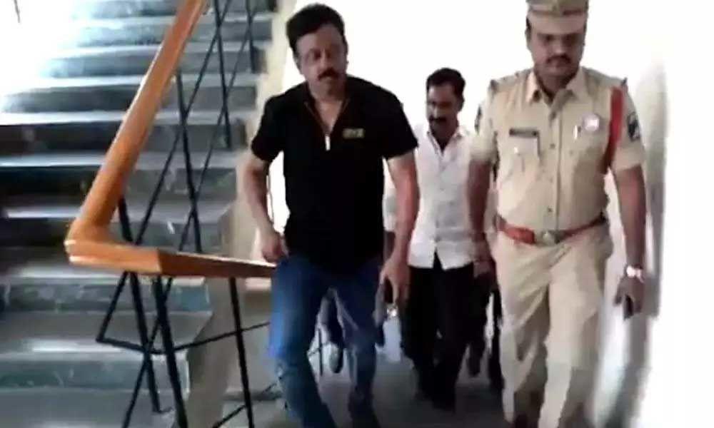 Director RGV meets Shamshabad police over Disha film