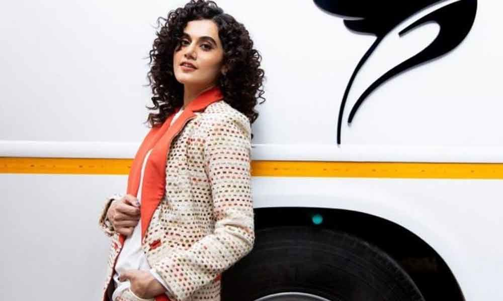 Taapsee on a roll