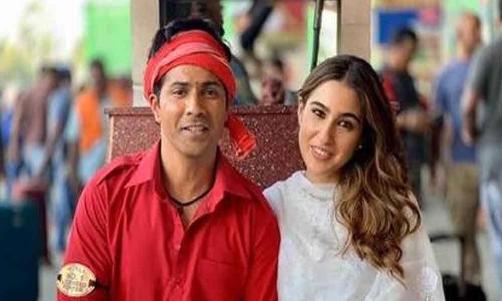 Varun Dhawan and Sara Ali Khan head to Goa!