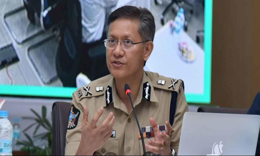 DGP clarifies on Chandrababu