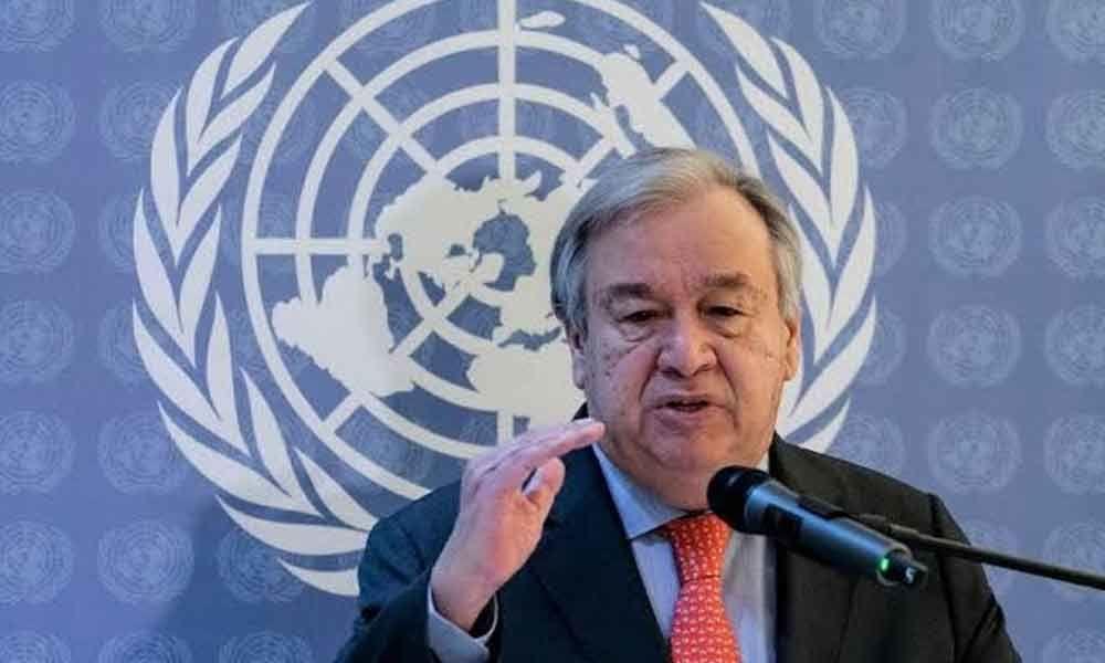 UN chief Antonio Guterres upset by CAA