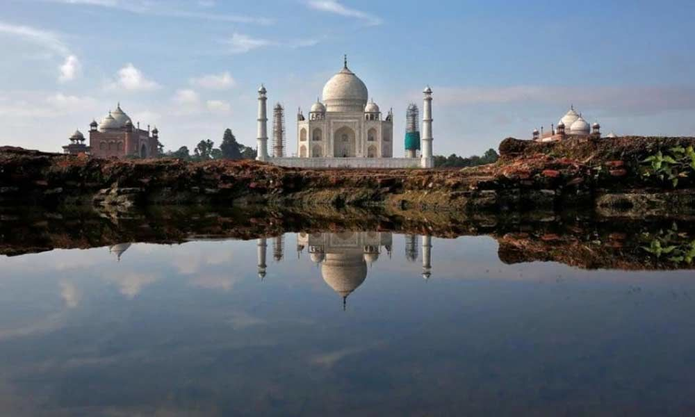 Yogi govt spruces up Taj city ahead of Trump
