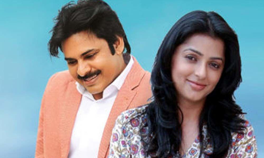 Pawan Kalyan reunites with Bhumika?