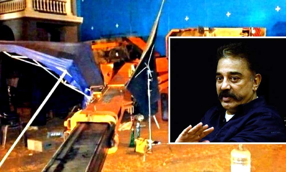 I Lost 3 Friends: Kamal On Crane Mishap In Indian 2 Sets