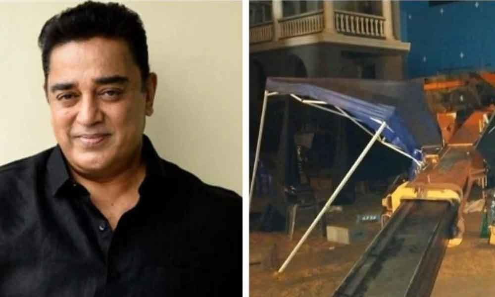 Kamal Hassan Announces To Donate One Crore As The Compensation Of Indian 2 Victims